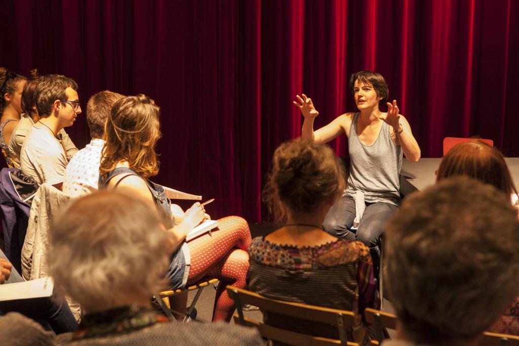 Rencontre avec Marie Dilasser à l'issue de la lecture