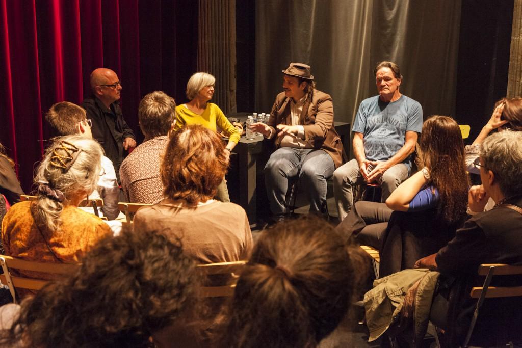 Rencontre avec Heinz Schwarzinger et Ferdiand Schmalz animée par Enzo Cormann accompagné d'Uta Muller