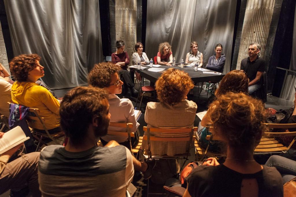 Résidences et après ? Julie Aminthe, Nicoletta Esinencu, Antoinette Rychner et Carine Lacroix. Rencontre animée par Laura Tirandaz et Bernard Garier