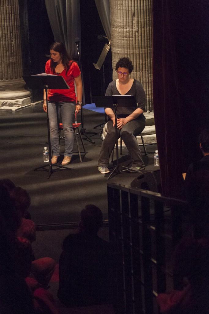 Mise en lecture par les comédiens du collectif du texte Comment retenir sa respiration de Zinnie Harris traduit par Blandine Pelissier